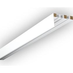 Бленда за пластмасов корниз цвят бяло 8480
