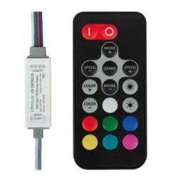 Мини контролер за RGB светодиодно осветление RGBRFC6A