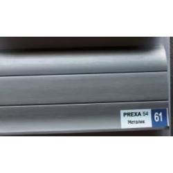 PVC подов перваз цвят сив металик Prexa 61
