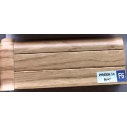 PVC подов перваз цвят бряст Prexa F6