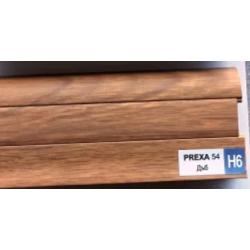 PVC подов перваз цвят дъб Prexa H6