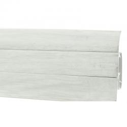 PVC подов перваз цвят бял дъб Prexa WO