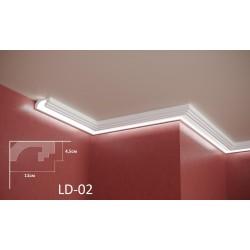 Профил за скрито осветление - LD 02