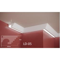 Профил за скрито осветление - LD 05