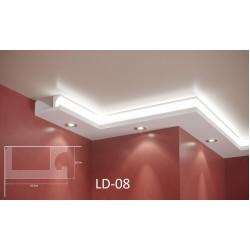 Профил за скрито осветление - LD 08