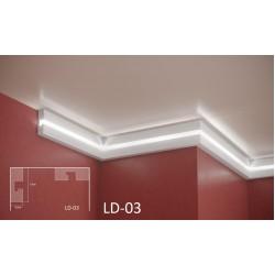 Профил за скрито осветление - LD 03