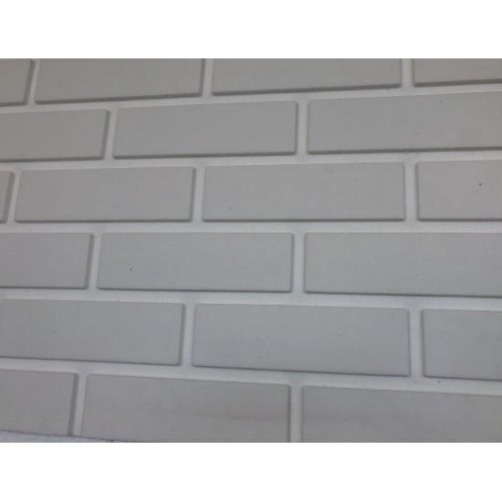 3D Интериорни тухлени панели - бяло 2