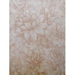 Адел Фон цвете меко кафяво 259-04