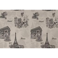 Айфелова кула черно и бяло 7733-2