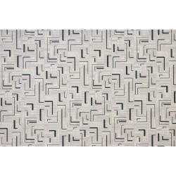 Геометрия цвят черно и сив минерал 7746-4